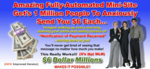 6 dollar millions minni website business