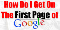 Thumbnail Get  your website to googles first page