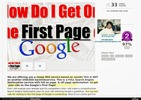 Thumbnail I will help You To Get your website on FIRST page of Google,